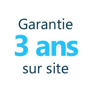 Garantie 3 ans sur site